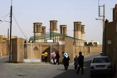 Shesh Badgiri in Yazd, der Iran Stockbild