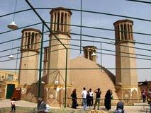 Shesh Badgiri in Yazd, der Iran Stockfotografie