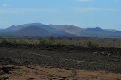Shetani-Lavafluss lizenzfreies stockfoto