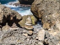 Shete Boka National park - stones Stock Photo