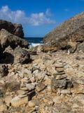 Shete Boka National park - stones Stock Photos