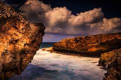 Shete Boka sul Curacao Immagine Stock Libera da Diritti