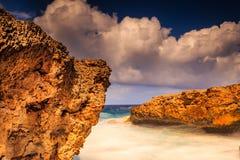 Shete Boka sul Curacao Fotografia Stock Libera da Diritti