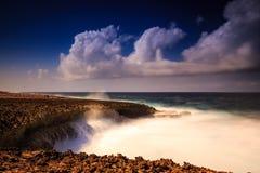 Shete Boka sul Curacao Immagine Stock