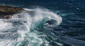 Shete Boka waves Stock Photos