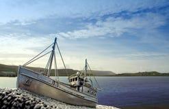 Shetland-Bus Lizenzfreies Stockbild