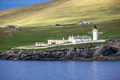 Shetland fyr 8 Arkivfoto