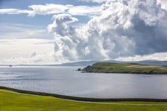 Shetland Landscape5 Royaltyfri Fotografi