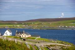 Shetland landskap Fotografering för Bildbyråer