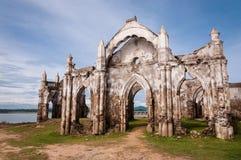 Shettihalli kyrka fotografering för bildbyråer