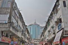 Sheung Shui smuggler shops at hong kong. The area of north district  Sheung Shui Royalty Free Stock Images