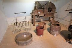 Sheung Yiu Folk Museum i Hong Kong Arkivbilder