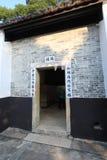 Sheung Yiu Folk Museum i Hong Kong Royaltyfria Foton