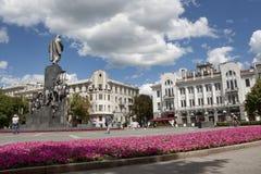 Shevchenko monument i Kharkiv Royaltyfri Bild