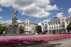 Shevchenko monument in Kharkiv Royalty Free Stock Image