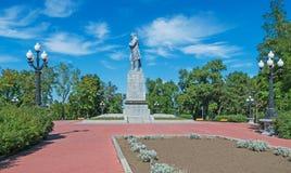 Shevchenko monument Royalty Free Stock Images