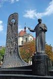 Shevchenko-Statue Lizenzfreies Stockfoto