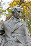 Shevchenko T. monument in Chernihiv Stock Image