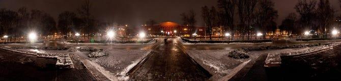 Shevchenko university (panorama) Stock Photos