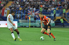 Shevchuk Vyacheslav with the ball Stock Image