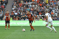 Shevchuk Vyacheslav with the ball Stock Photo
