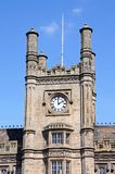 Shewsbury Railway Station Clock Tower. Royalty Free Stock Photo