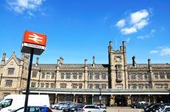 Shewsbury Railway Station. Stock Photo
