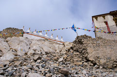 Shey宫殿在Leh,印度 免版税图库摄影