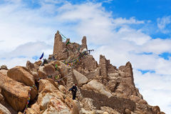 Shey Palace in Ladakh, North India Royalty Free Stock Image