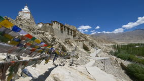 Shey Palace, Leh, Ladakh, Jammu and Kashmir, India stock video
