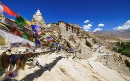 Shey Palace, Leh, Ladakh, Jammu and Kashmir, India. Shey Palace Monastery, Leh, Ladakh, Jammu and Kashmir, India stock image