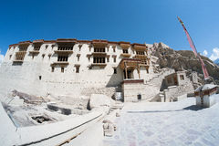 Shey Palace in Leh Ladakh. Royalty Free Stock Photography