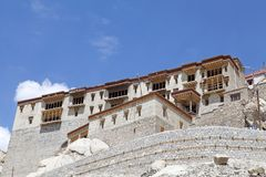 The Shey Palace and Monastery complex, Ladakh, India Royalty Free Stock Images