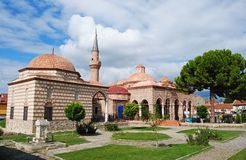 Sheyh Kutbettin Camii mosque and the Iznik Museum. Stock Image