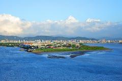Shezi-Insel stockbild
