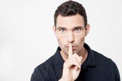 Shh, не сделайте шум! стоковое изображение rf