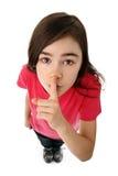 Shh Foto de archivo libre de regalías