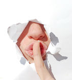 Shh do silêncio imagem de stock royalty free
