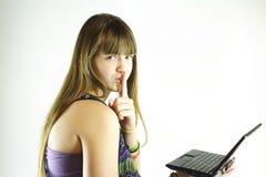 Shh, não diga qualquer um. Imagem de Stock Royalty Free