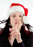 Shhh Fotografia Stock Libera da Diritti