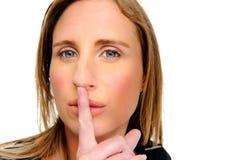 Shhh! Stockfotos