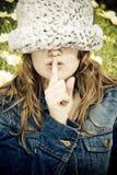 Shhh Stockfotos