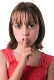 Shhhh Immagini Stock