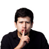 SHHHH Be Quiet! Royalty Free Stock Images