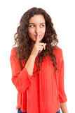 Shhhh! Silence please! Royalty Free Stock Images