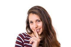 Shhhh! Silence please! Stock Photo
