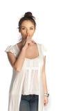 Shhhhh Foto de Stock