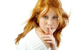 Shhhhh Fotografía de archivo libre de regalías
