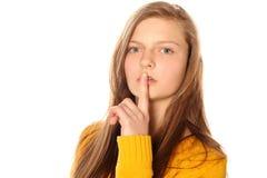 Shhhhh Royalty Free Stock Photo