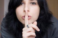 Shhhhhh Stock Photo